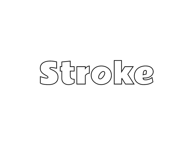 Stroke Text Effect